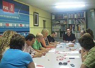 Reunión del PSOE de Torrelavega