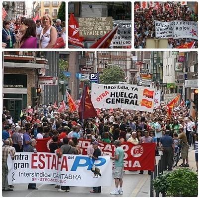 Manifestación Torrelavega 21 julio