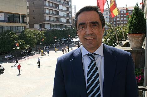 Ildefonso Calderón Ciriza, alcalde de Torrelavega