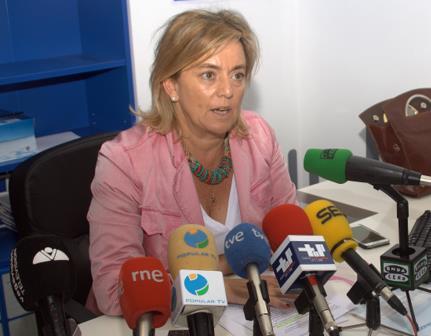 María Luisa Peón afirma que Torrelavega vuelve a ser la 'pagana' de los recortes del Gobierno de Cantabria