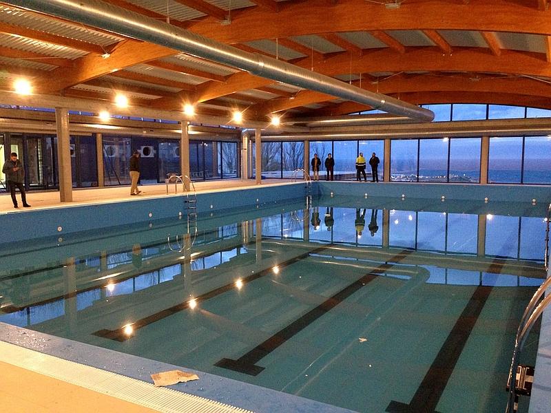 Suances ya tiene piscina cubierta y climatizada