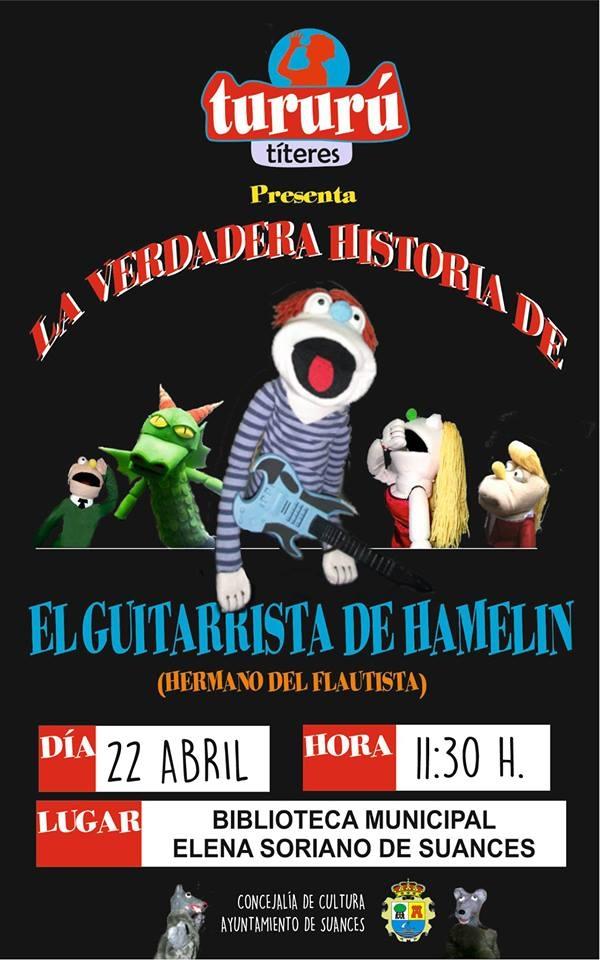 Suances celebra el Día del Libro con títeres para los más pequeños