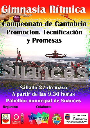 Suances se convierte este fin de semana en referente de la Gimnasia Rítmica de Cantabria