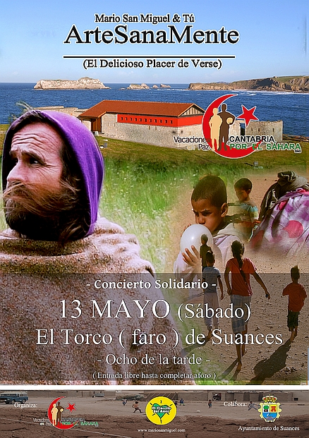 Suances acoge el sábado un Concierto Solidario de Mario San Miguel