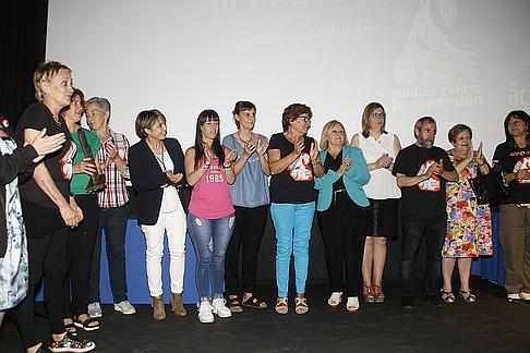 """Las """"Madres contra la represión"""" recibieron el III Premio Esther García a la lucha popular"""
