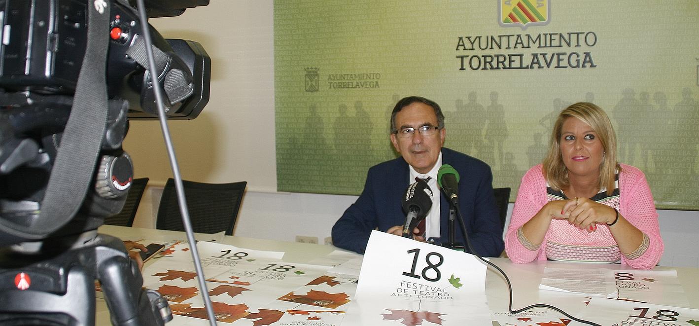 El Festival de Teatro Aficionado alcanza su mayoría de edad - José Manuel Cruz Viadero y Cristina García Viñas