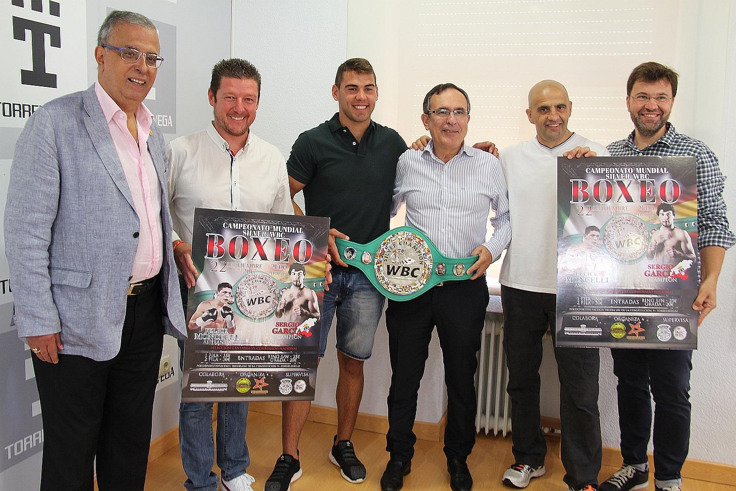 Sergio García defenderá el título de Campeón del Mundo Silver en el Vicente Trueba