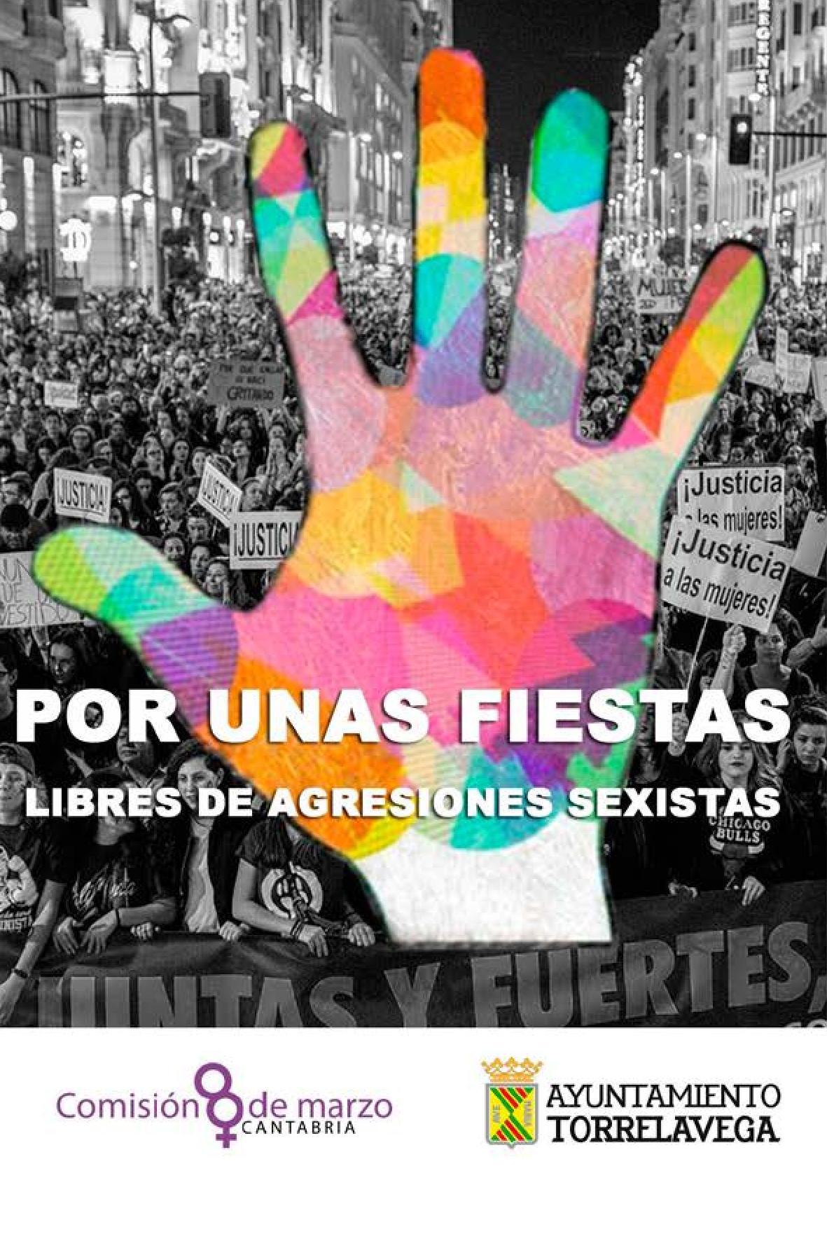 Torrelavega apuesta por unas fiestas libres de agresiones sexistas