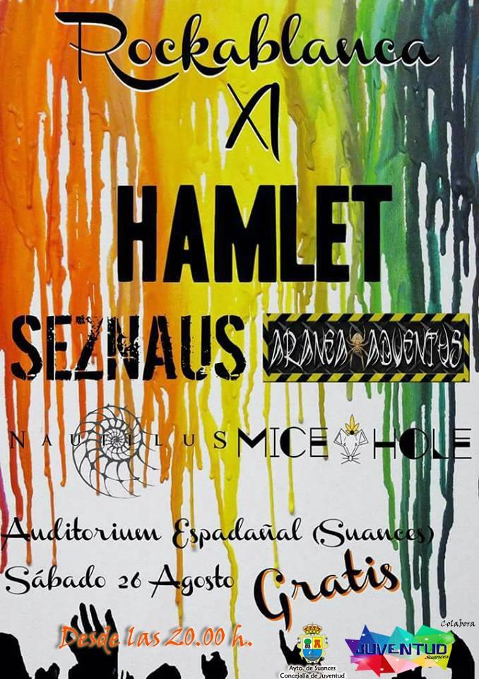 La mítica banda de metal Hamlet actuará este sábado en Suances dentro del Festival Rockablanca