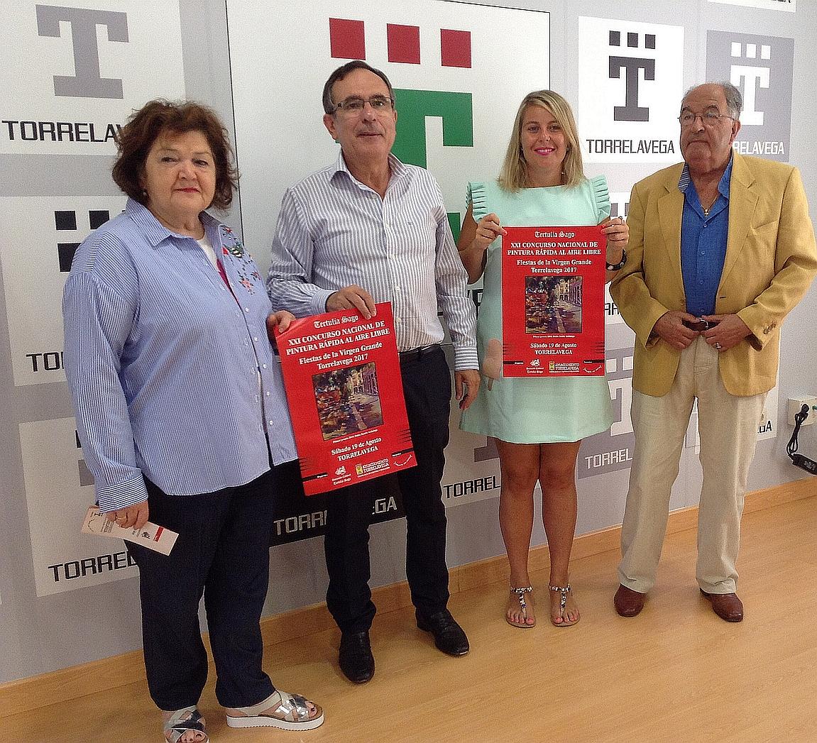 Presentado el XXI Concurso Nacional de Pintura Rápida al Aire Libre de Torrelavega