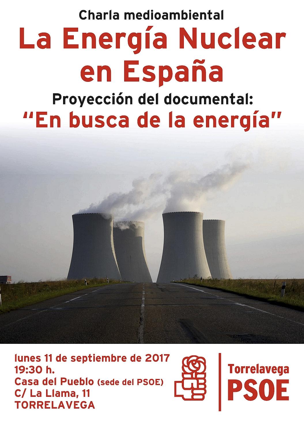 La Energía Nuclear a debate en la sede del PSOE de Torrelavega