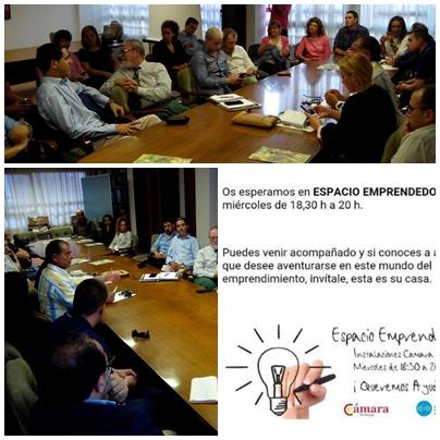 La Cámara impulsa las reuniones gratuitas «Espacio Emprendedores»