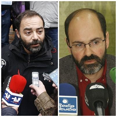 Iván Martínez (ACPT) y José Luis Urraca (PSOE) - (C) ESTORRELAVEGA