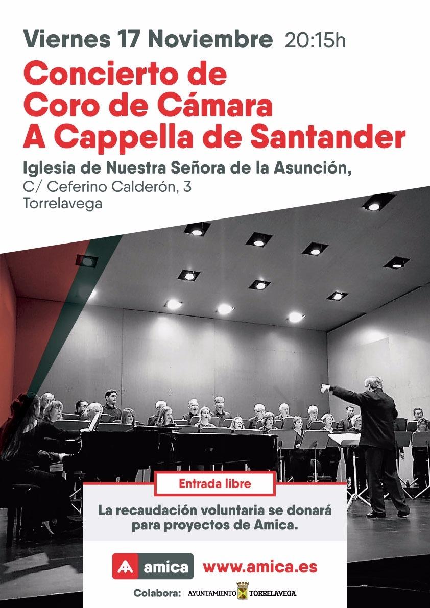 La Iglesia de la Asunción acogerá un concierto a beneficio de AMICA