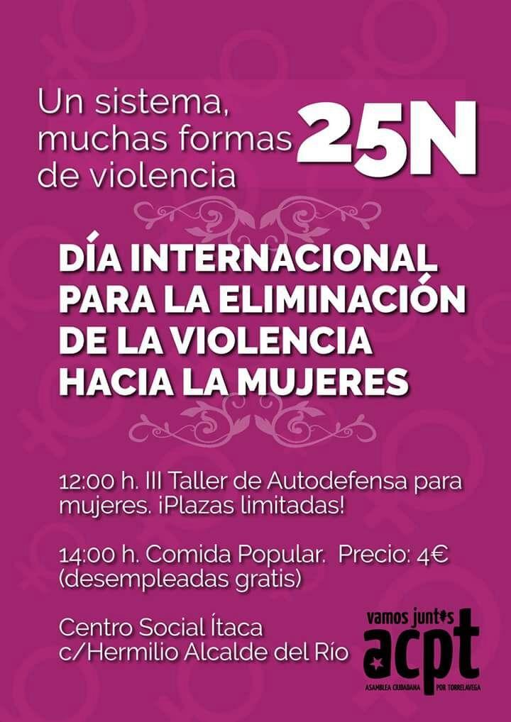 ACPT organiza la tercera edición del Taller de Autodefensa Personal para mujeres