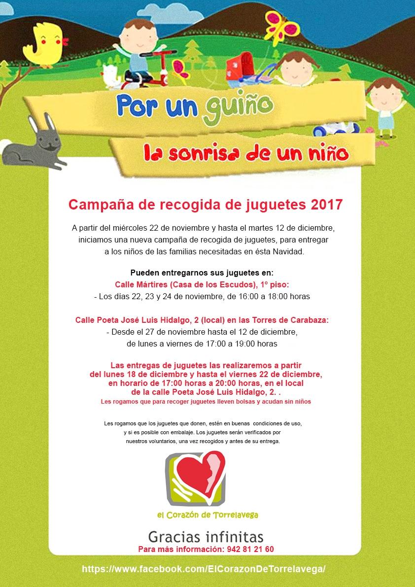 """Vuelve """"El corazón de Torrelavega"""" con su recogida solidaria de juguetes"""