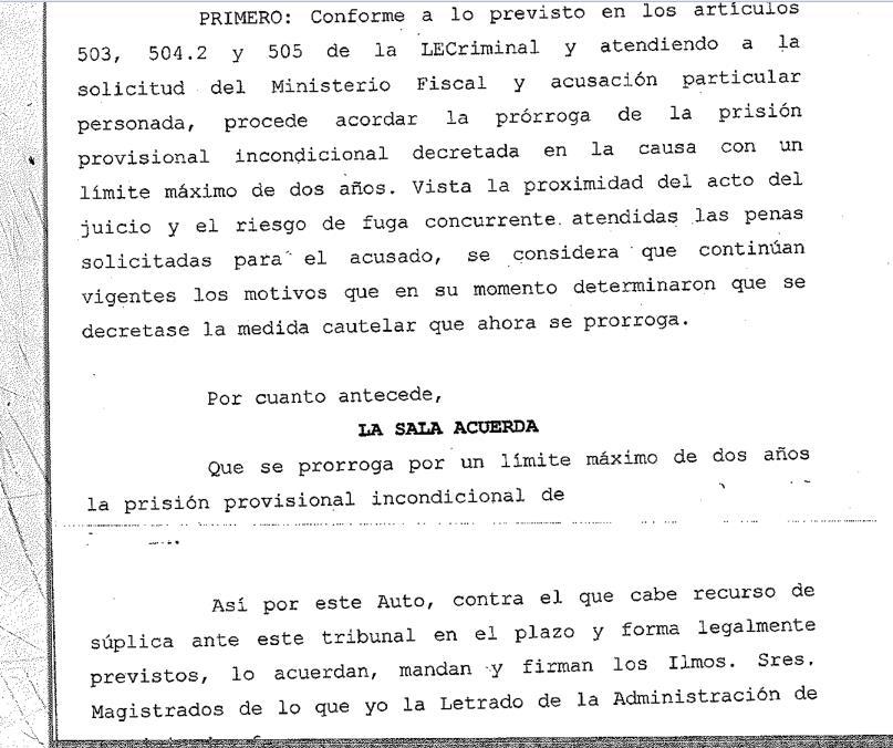 Prorrogada la prisión provisional a uno de los tres acusados de dar una paliza mortal a un comerciante chino en Torrelavega