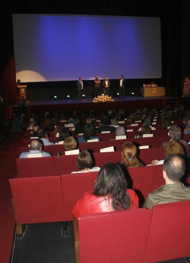 En la imagen de archivo, el interior del TMCE durante un evento