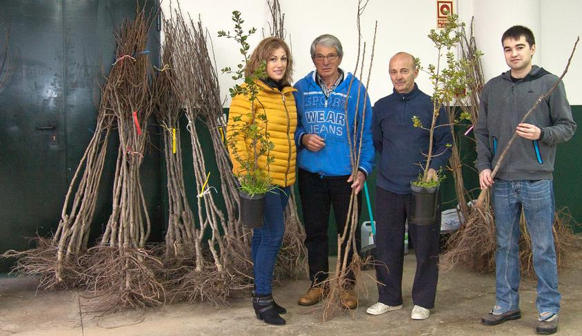 Polanco inicia la campaña de reforestación 'Polanco verde'