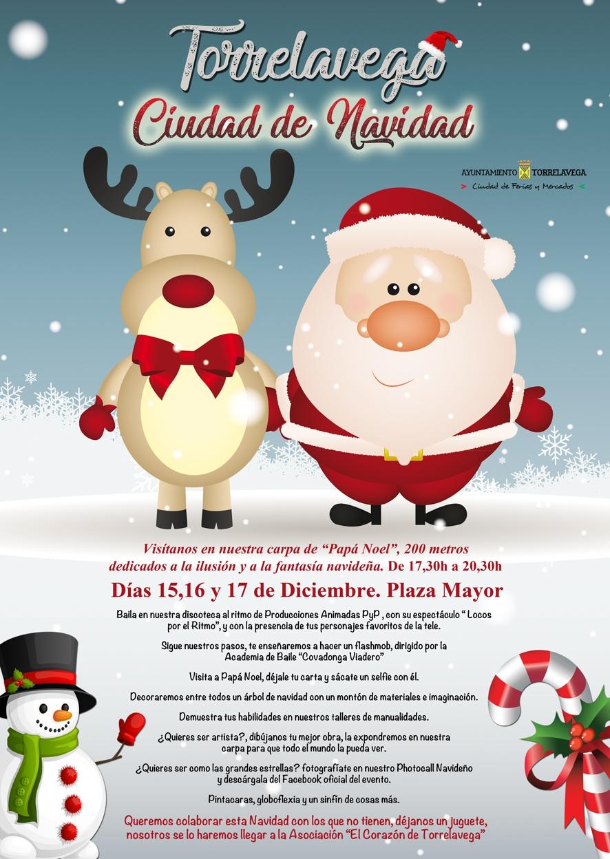 Torrelavega, ciudad de Navidad