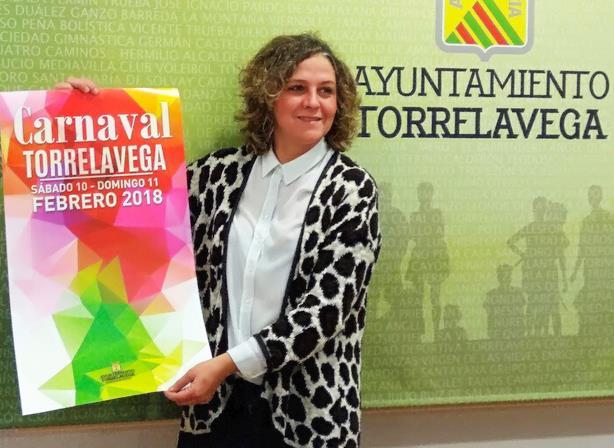 El Carnaval de Torrelavega se celebrará el 10 y 11 de febrero - Foto: Patricia Portilla, concejal de Festejos del Ayuntamiento de Torrelavega