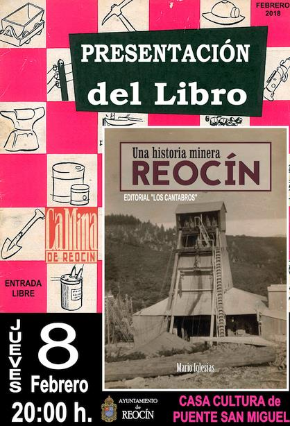 """Mario Iglesias presenta su libro """"Una historia minera: Reocín"""""""