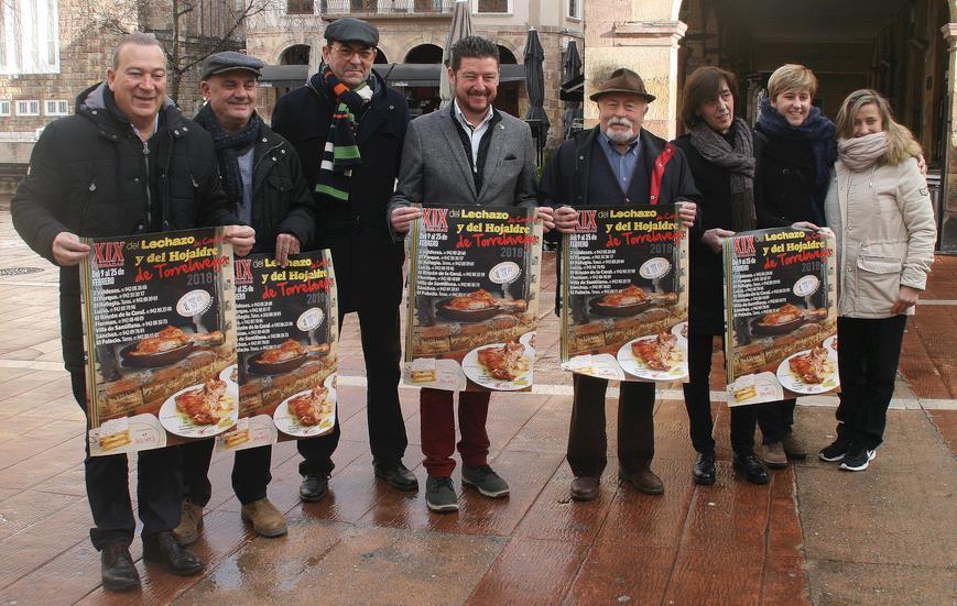 Las XIX Jornadas del Lechazo y del Hojaldre de Torrelavega se celebran del 9 al 25 de febrero