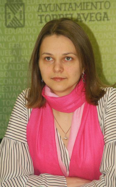 Torrelavega recibe a la campeona de ajedrez Anna Muzychuk