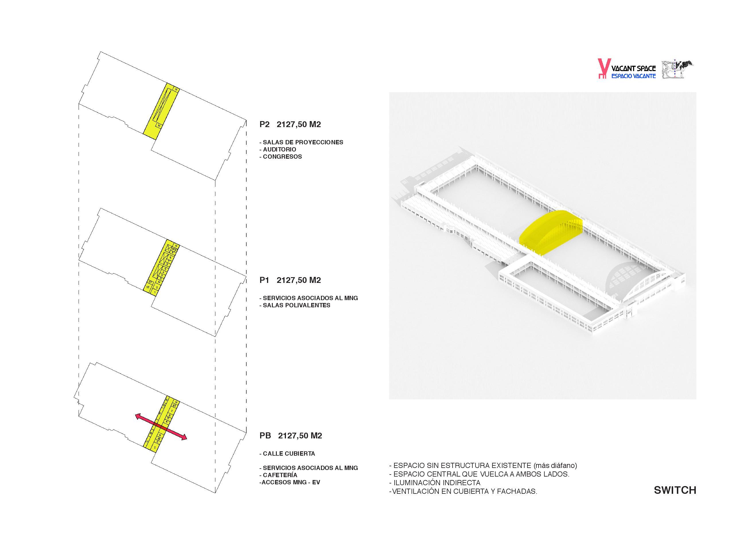 Nuevas ideas para aprovechar los espacios del Mercado Nacional de Ganados - Torrelavega EUROPAN
