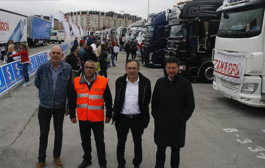 Cruz Viadero inaugura el IX Truck Show Festival de Torrelavega