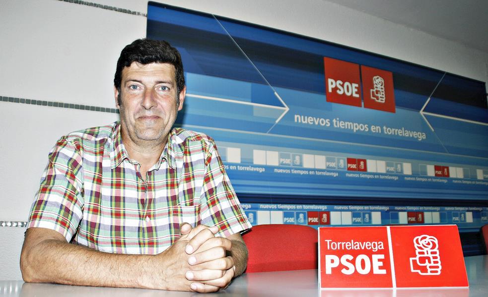Bernardo Bustillo Secretario General del PSOE de Torrelavega, en una imagen de archivo