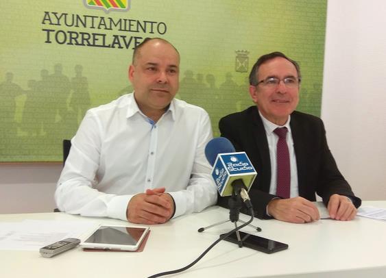 Javier Melgar y José Manuel Cruz Viadero - Torrelavega consigue 3 millones de euros de los Fondos Europeos EDUSI