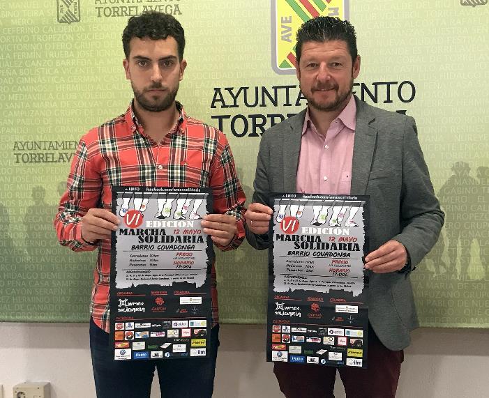 Fernando Pérez y Jesús Sánchez - La Marcha Solidaria del Barrio Covadonga WMCO espera congregar este sábado a 800 participantes