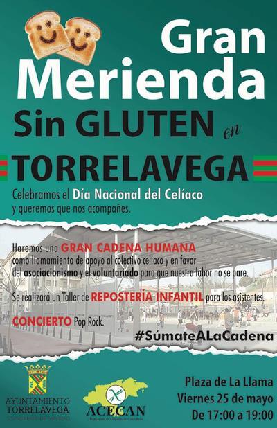 ACECAN organiza una 'Gran Merienda sin gluten' en Torrelavega