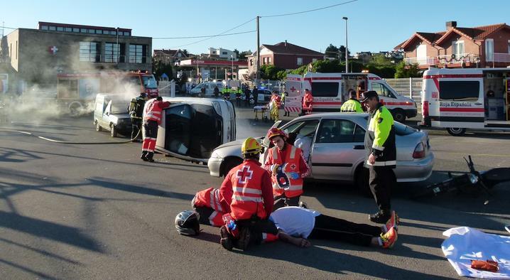 El colegio Portus Blendium de Suances acogerá un simulacro de intervención policial