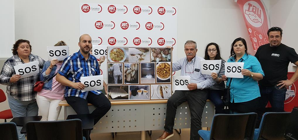 """UGT pide la destitución del director de gestión de Sierrallana por """"los desmanes"""" de la concesionaria de la cocina del hospital"""