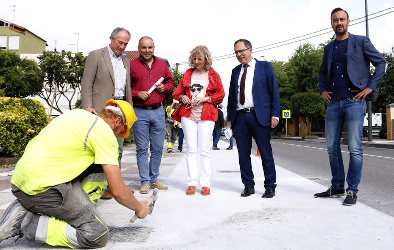 """Cruz Viadero: """"El carril bici Torrelavega-Reocín es un anhelo de la ciudad para comunicarse con el resto de municipios de la comarca"""""""