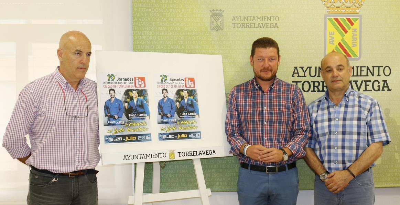 Presentadas las XIX Jornadas Internacionales de Judo Ciudad de Torrelavega