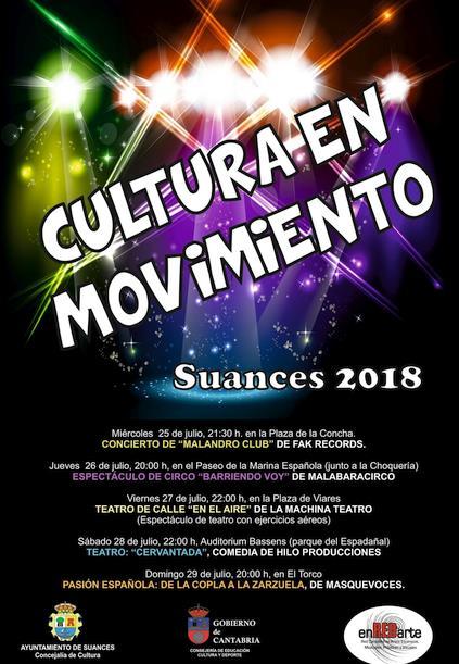 La Cultura toma de nuevo las calles de Suances a partir del miércoles