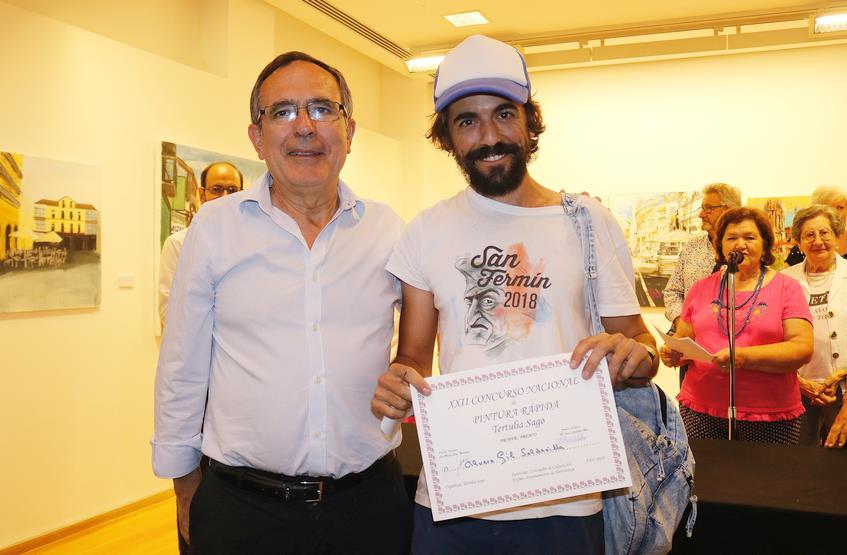 Álvaro Gil gana el XXII Concurso Nacional de Pintura Rápida al Aire Libre