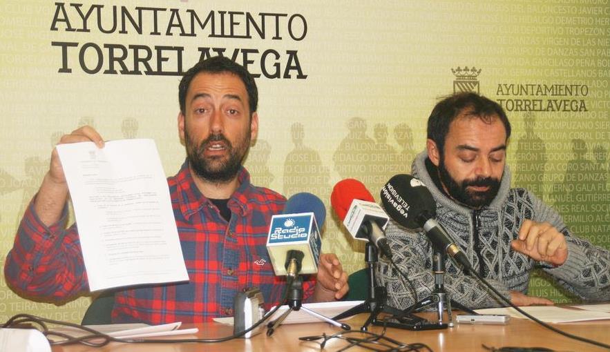 Alejandro Pérez e Iván Martínez (fotografía de archivo)
