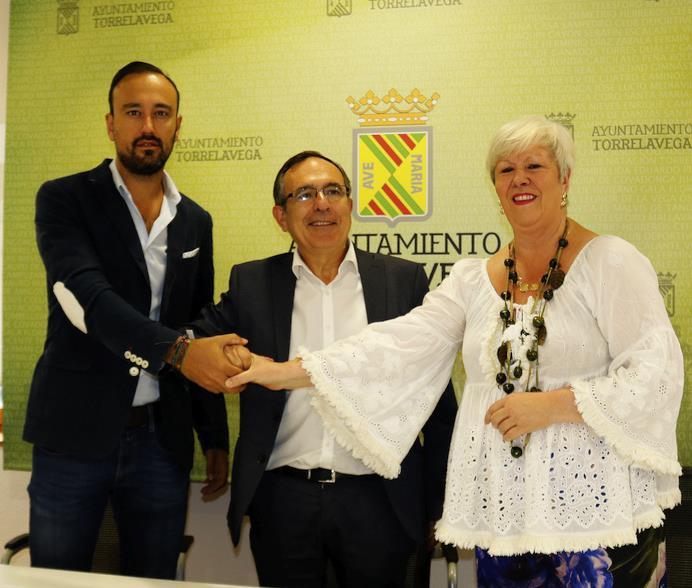 PSOE, PRC y Torrelavega Sí firman el acuerdo para sacar adelante los Presupuestos