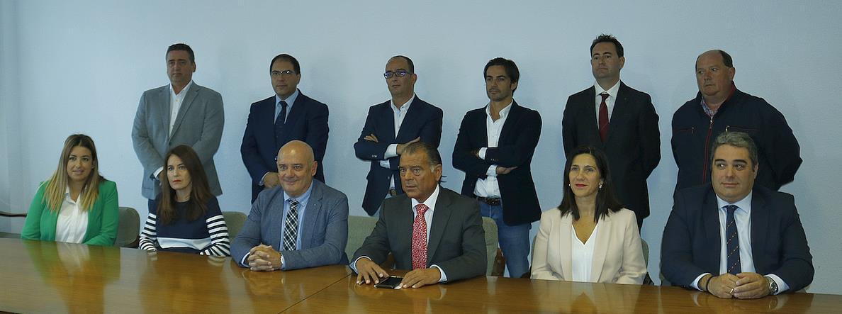 Presentada la candidatura «oficialista» para la Cámara de Comercio de Torrelavega