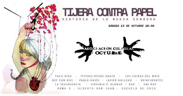"""El documental """"Tijera Contra Papel"""" se presenta en Torrelavega"""