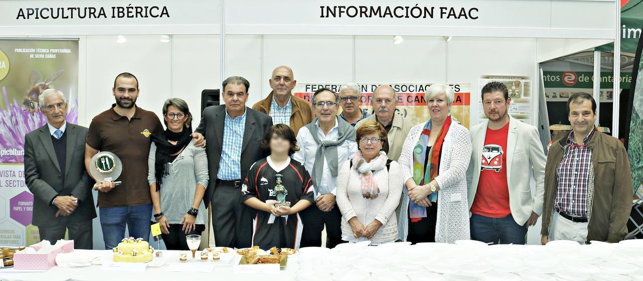 Entregados los premios del Concurso de Postres con Miel de la X Feria Nacional Apícola