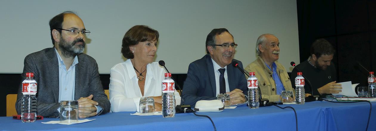 José Luis Urraca, Amparo Fernández, José Manuel Cruz Viadero, Tomás Bustamante, Jorge Díaz