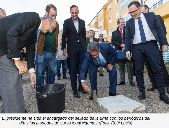 Iniciada la construcción de 22 viviendas de protección en régimen de alquiler en Torrelavega