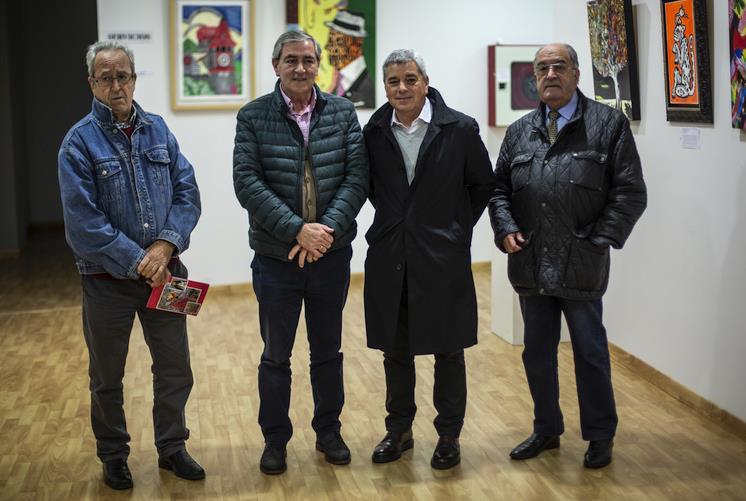 Inaugurada en Suances la exposición de Samuel Pacheco Díaz
