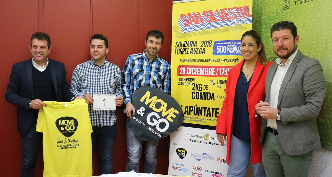 Presentada la San Silvestre Solidaria 2018