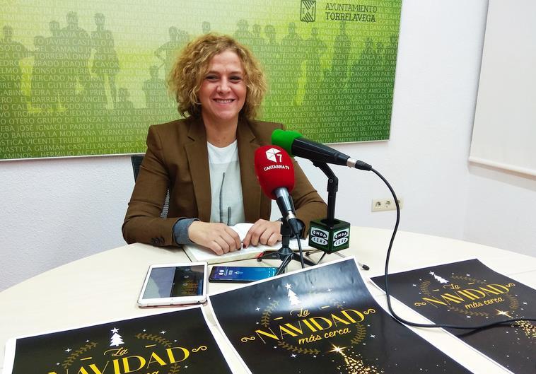 Patricia Portilla - Del 21 de diciembre al 5 de enero Torrelavega se convertirá en la 'Ciudad de la Navidad'